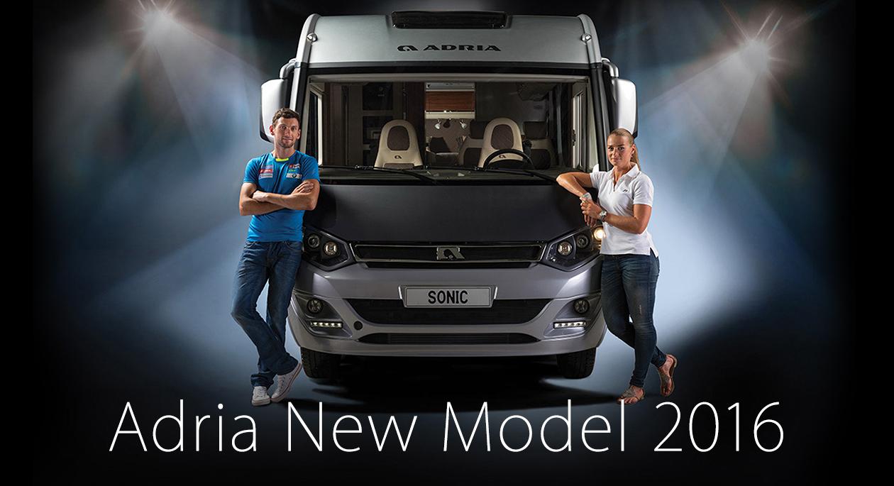 Adria new model2016